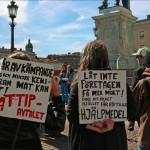 TTIP, ett hot mot demokratin, miljön och vår välfärd