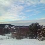 Göteborg i vinterskrud