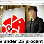 Reinfeldt i orubbat bo?