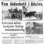 Ådalen 1931, lönesänkningar och slavkontrakt…