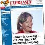 Karin Jämtin skapar rubriker.