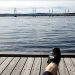 Torgmarknad och vårkänslor vid Munksjön