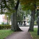 Stadsvandring, Rådhusparken i Jönköping.