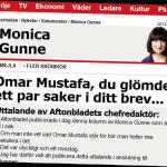 Kritiken mot Omar Mustafa öppnade en fördämning.