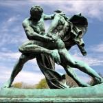 Välkända statyer i Göteborg, dagens bilder