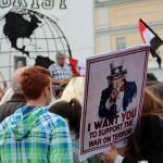 Protester mot USA:s krigspolitik, Bilder