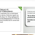 Fredrik Reinfeldt och verkligheten.