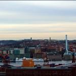 Ramberget, panorama över Göteborg. Bilder.