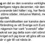 Söders lögner och SD:s rasism.
