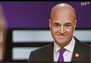 Reinfeldt leende