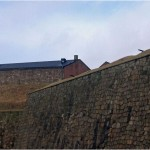 Historiska vingslag vid Varbergs fästning, bilder.