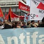 Tusentals i stark antifascistisk manifestation i Göteborg. Bilder.
