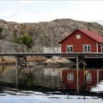Skärhamn, akvareller och kustmiljö, bilder.