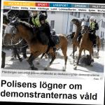 Skånepolisens legitimitet i gungning.