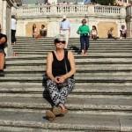 Piazza di Spagna i Rom, bilder