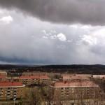Utsikten från brf Vitsippan, bild.