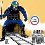 EU bygger murar.