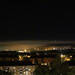 Nattdimma över Tuve, bilder.
