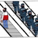 En svart dag med ännu ett terrordåd i Europa.
