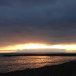 Solnedgång över Gomera, bild.