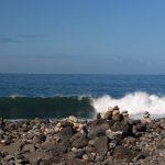 Vågor, platt fall  och en flashback,  bilder.