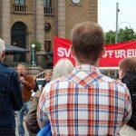 Svexit – Nej till EU, bilder från Göteborg.