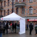 Manifestation mot rasism och nazism  i Göteborg.