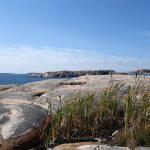 Hamburgö, klippor och hav, bilder