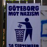 Aldrig mer! Inga nazister på våra gator.