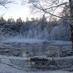Vinterbilder från Hisingsparken.