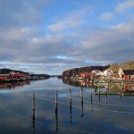 Hamburgsund innan snön, bilder.