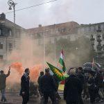Turkiets invasion ett brott mot folkrätten, demonstration i Göteborg.